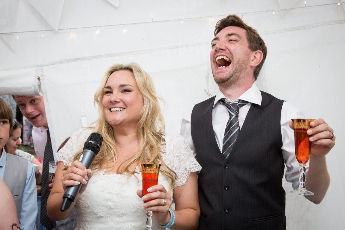 Emma and Jon's wedding