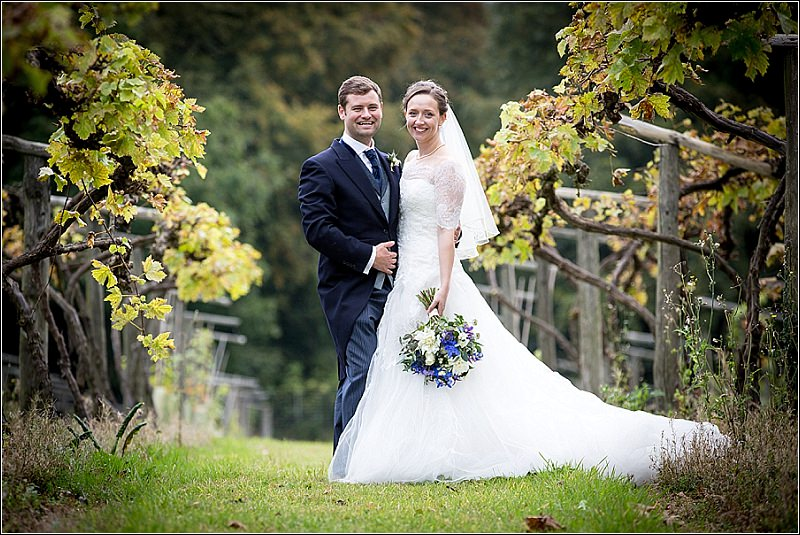 Rebecca & Sam's wedding at Old Luxters Barn