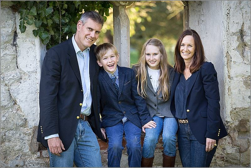 A family shoot in Castle grounds