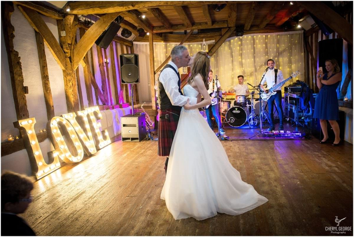 Alice & Rob's wedding at Old Luxters Barn