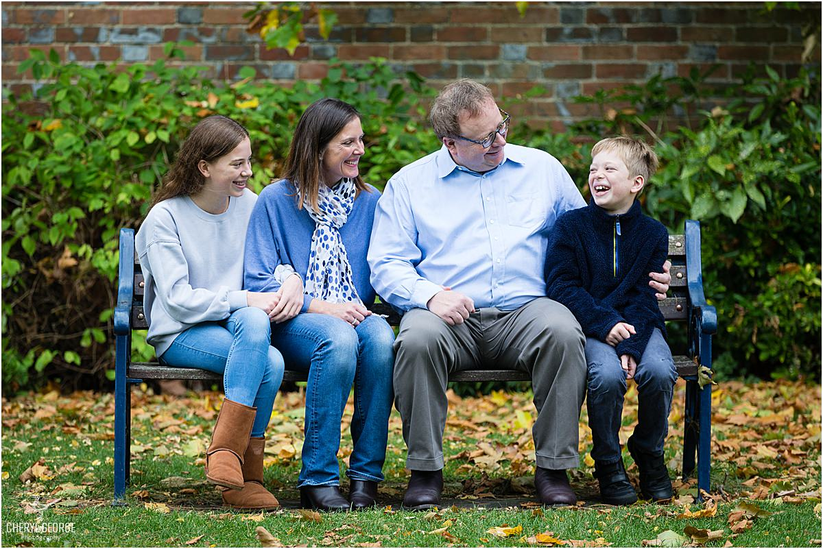 Autumn family shoot at Wallingford Castle