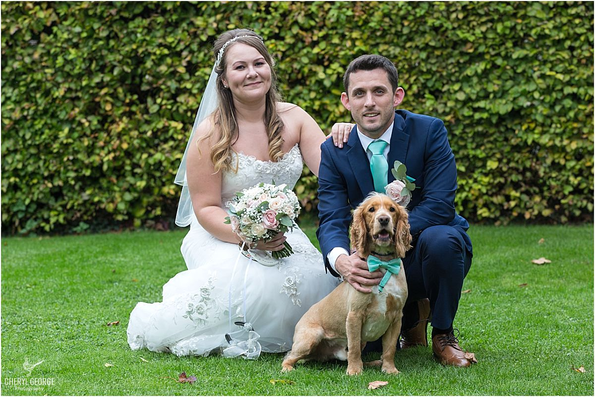 old luxters dog wedding