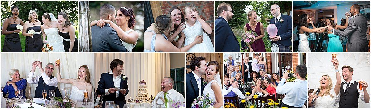 fun wedding photographer oxfordshire