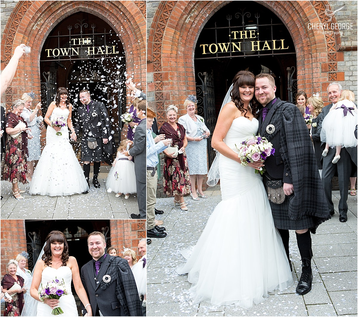 reading town hall wedding photographer